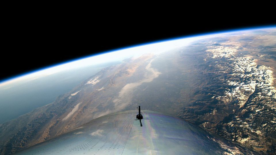 Abu Dhabi-backed Virgin Galactic takes crew to altitude of 55 miles